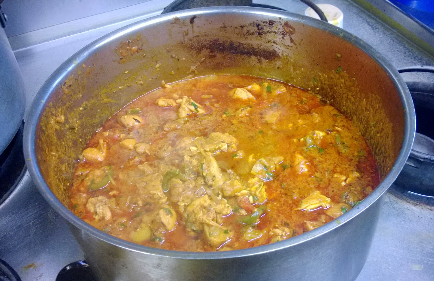 The Chicken Jalfrezi