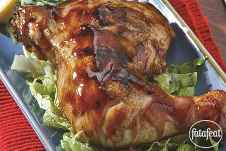صورة الدجاج المشوي في تتبيلة الترياكي  - فتافيت