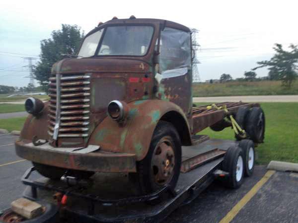 1948 Diamond T Coe Cabover Truck Auto Restorationice