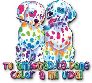 tu amistad le pone color a mi vida