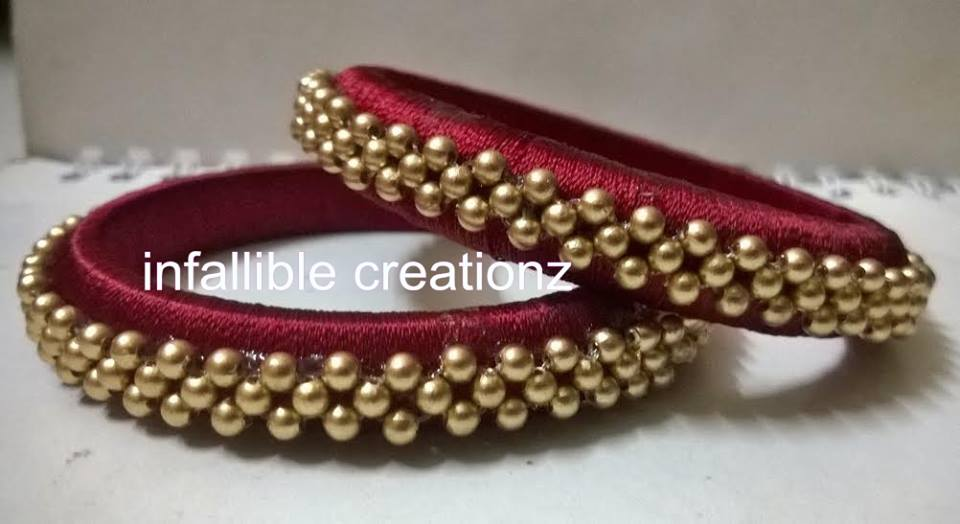 how to pack silk thread jewellery
