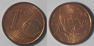 france 1 cent 2007