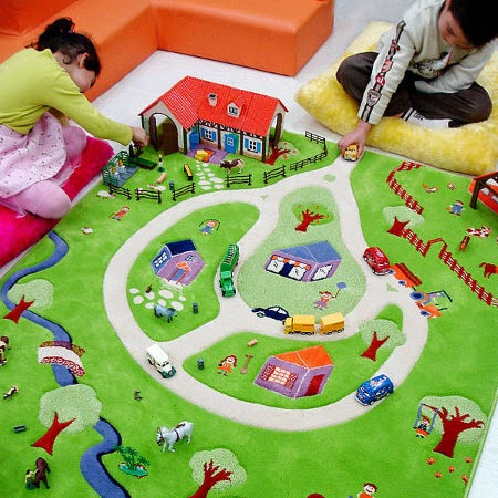 interactive play rugs for kids playroom