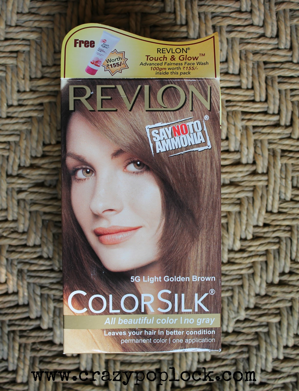 Revlon Color Silk In 5g Light Golden Brown B H A R T I P
