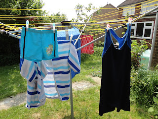 Swimming Costume on the Washing Line