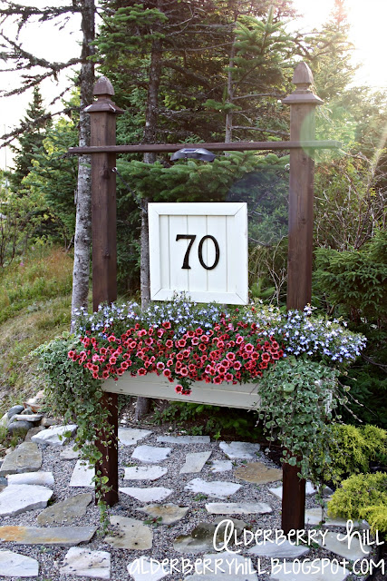 1 pm028 House Number Sign
