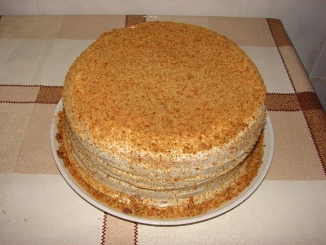 Торт сметанник в домашних условиях