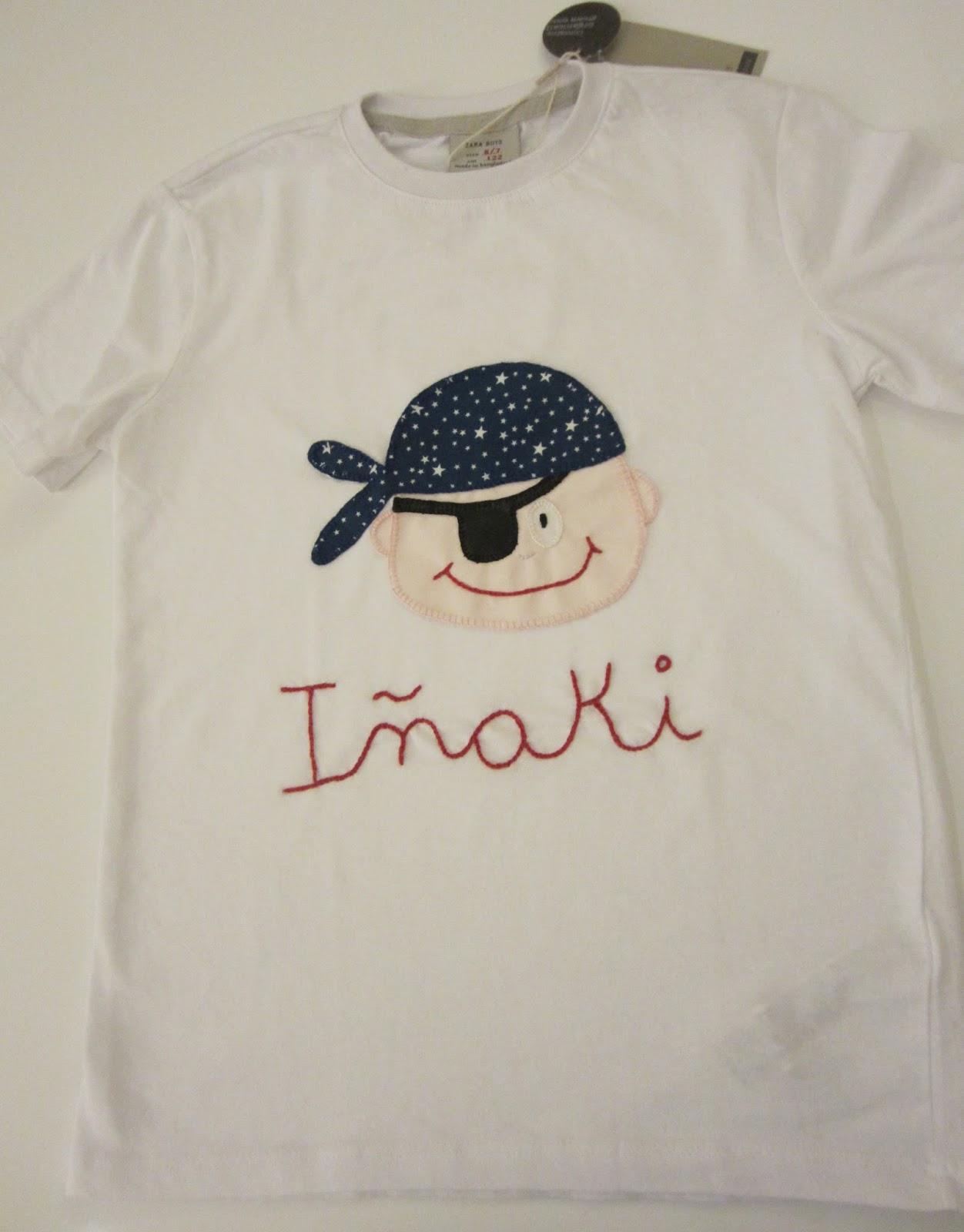 mis nancys, mis peques y yo, camiseta pirata