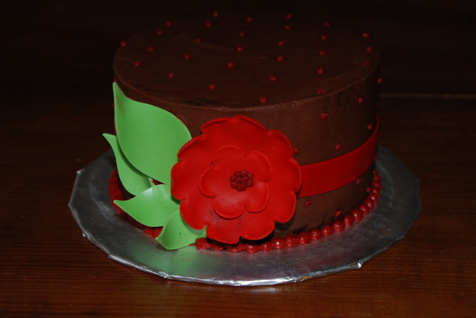 Mini Floral Birthday Cake