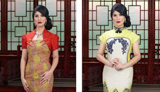 Foto Baju Imlek Motif Batik Trend 2016 Terbaru