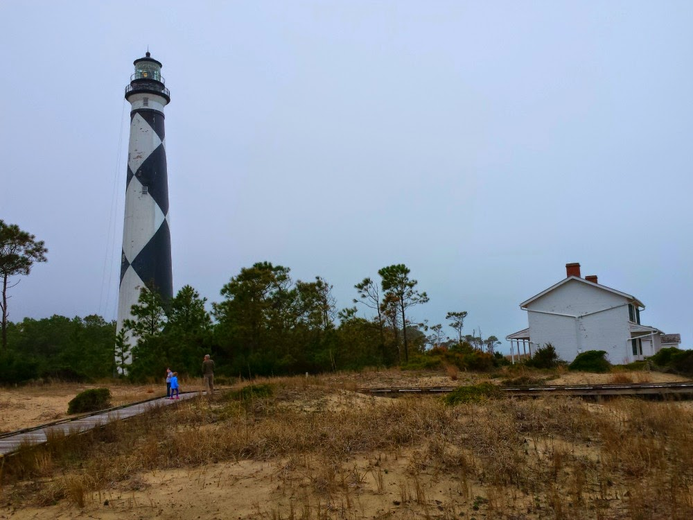 Cape Lookout off the Crystal Coast, A U.S. National Park area