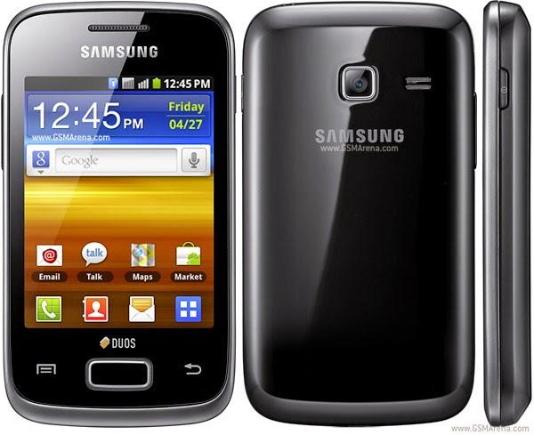Hard Reset Samsung Galaxy Y Duos S6102