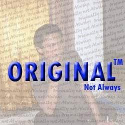 Tak Selalu Harus Original