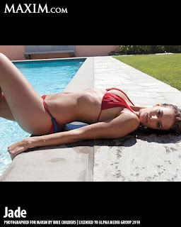 Kimberly ,Nicole Marie, bikini, thong bikini, Maxim Magazines, Jade