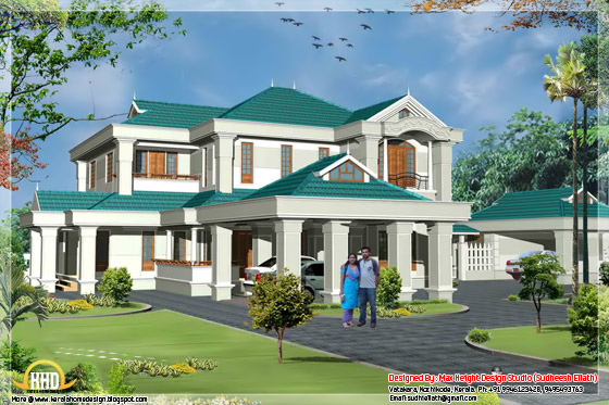 4250 square feet luxury villa - May 2012