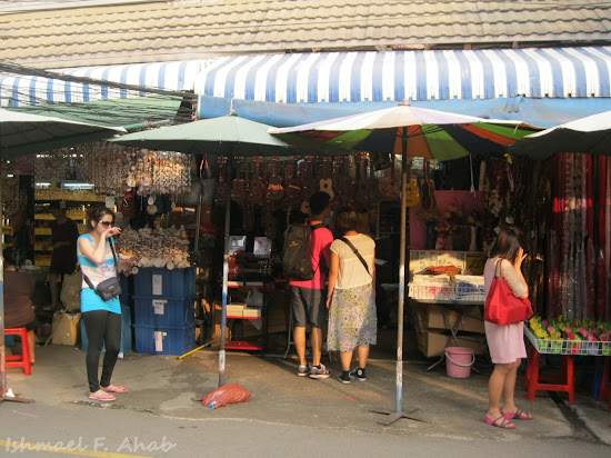 Stores in Chatuchak Weekend Market