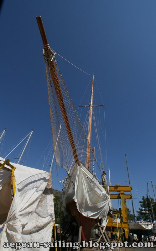 Yacht Building at Bodrum