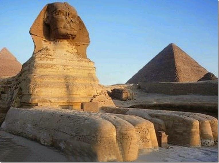 como se construyo las piramides de egipto