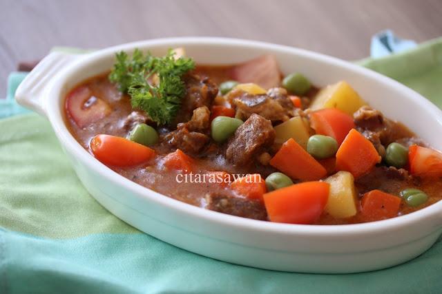 stew daging / beef stew