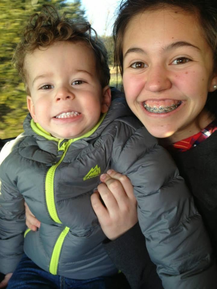 Aidan and I
