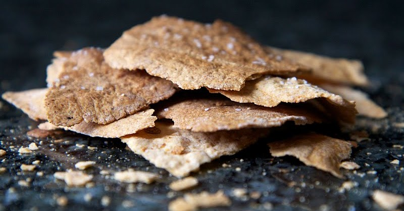 The Flour Sack: Olive Oil Crackers
