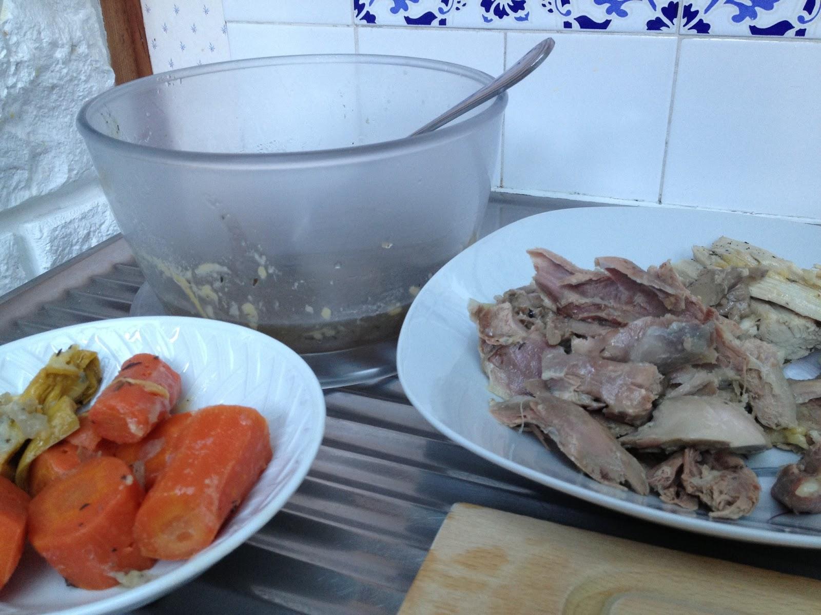 les d 233 lices d isa et morgane cassolette de poule au pot