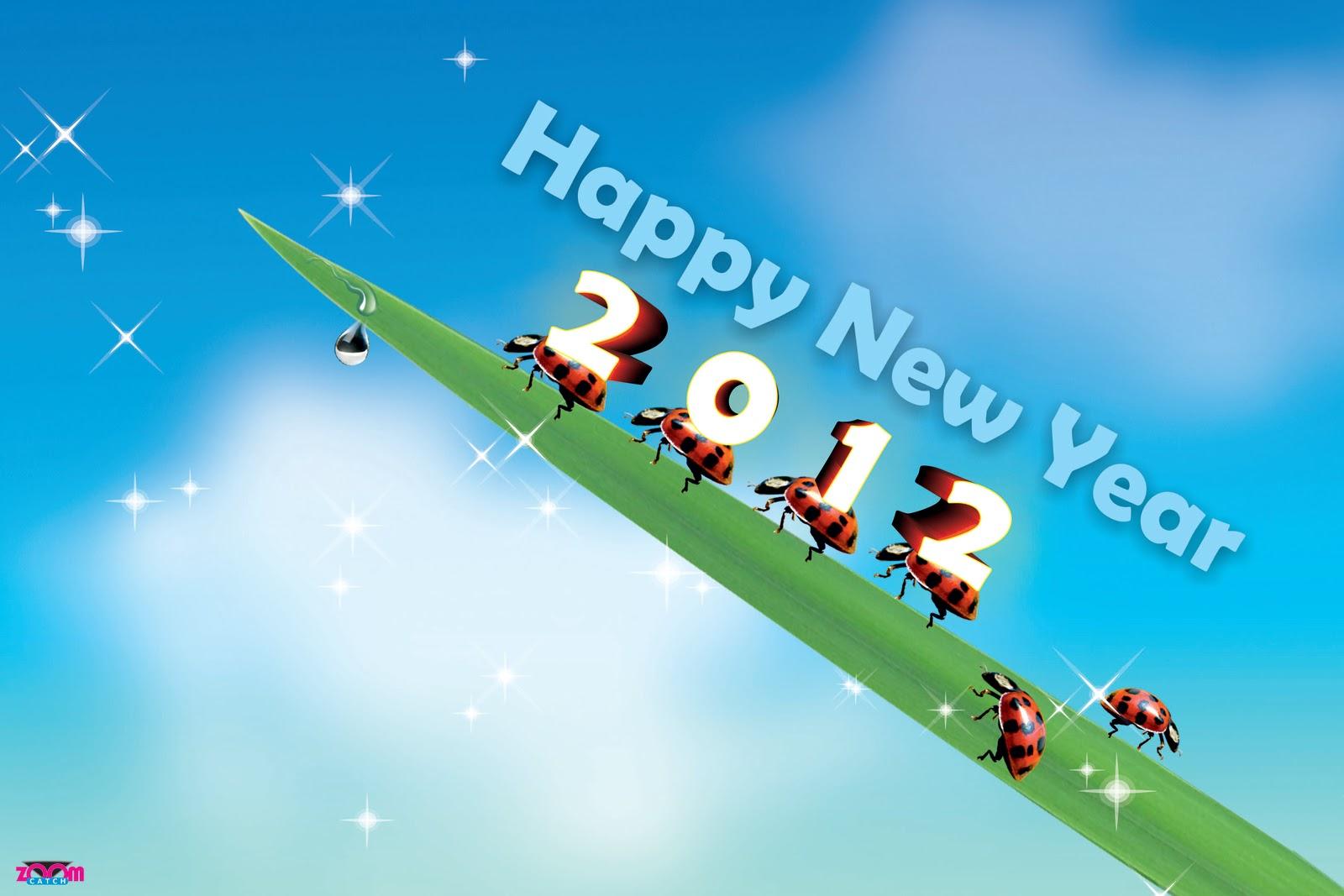 ... год, бесплатно новые обои года, скачать новые обои 2012 год