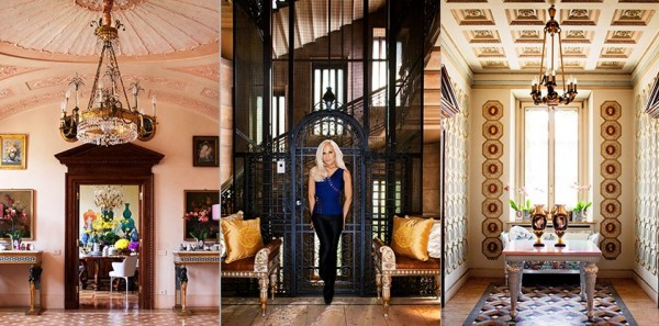 Celebrity Home Photographs by Douglas Friedman: Donatella Versace Home 2