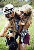 Las chicas felices