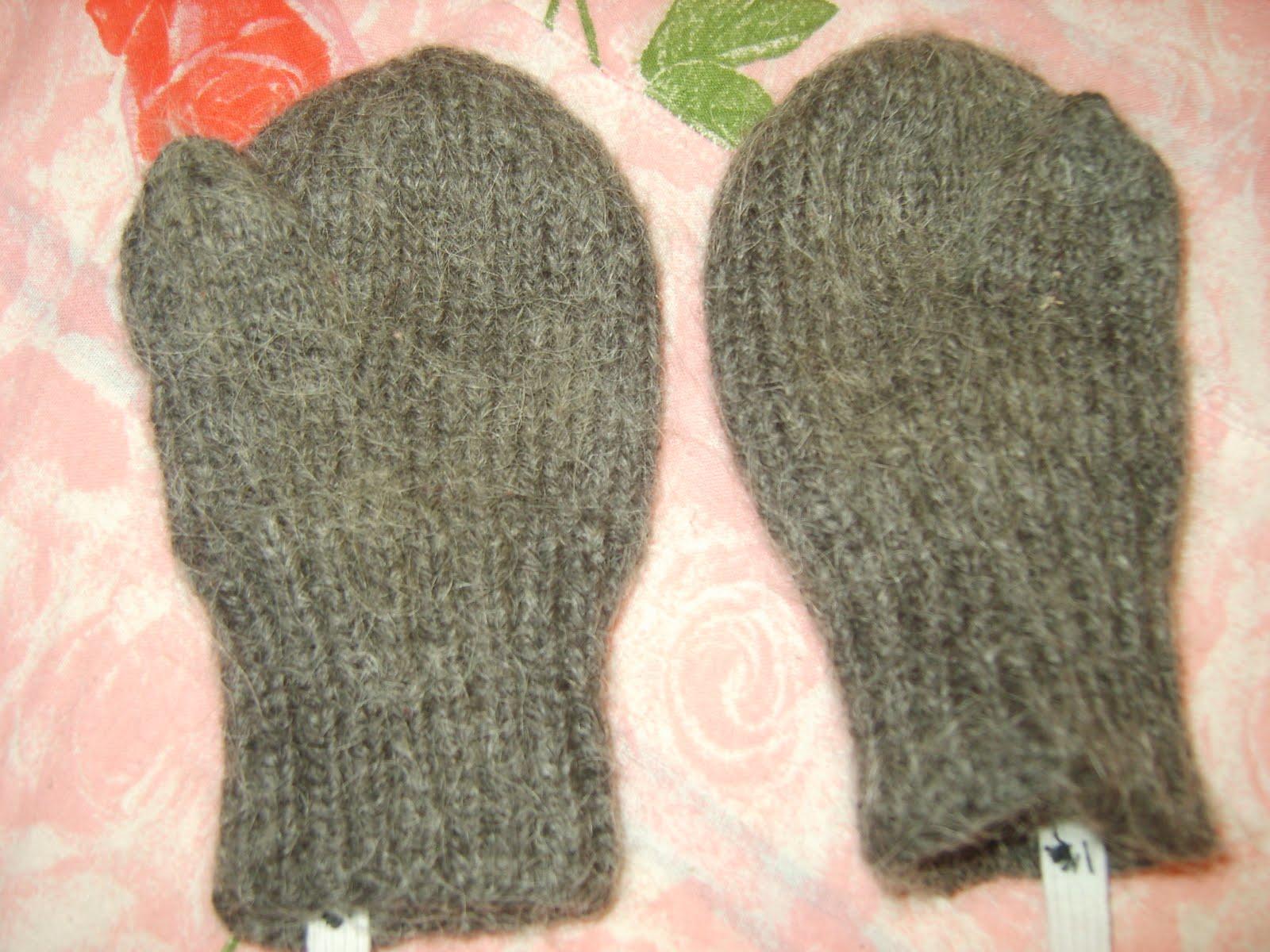 Детские варежки - схема вязания спицами. Вяжем Варежки на 68