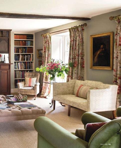 Английский дом 17 века