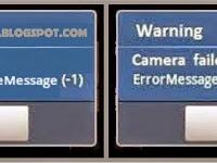 Solusi Kamera Samsung Error Message Handler.handleMessage (-1)