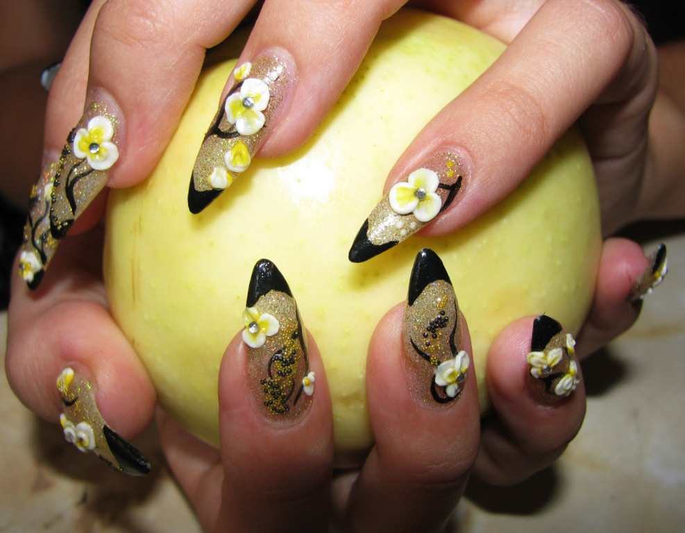 the nails professionally manicured nails look neat and very attractive