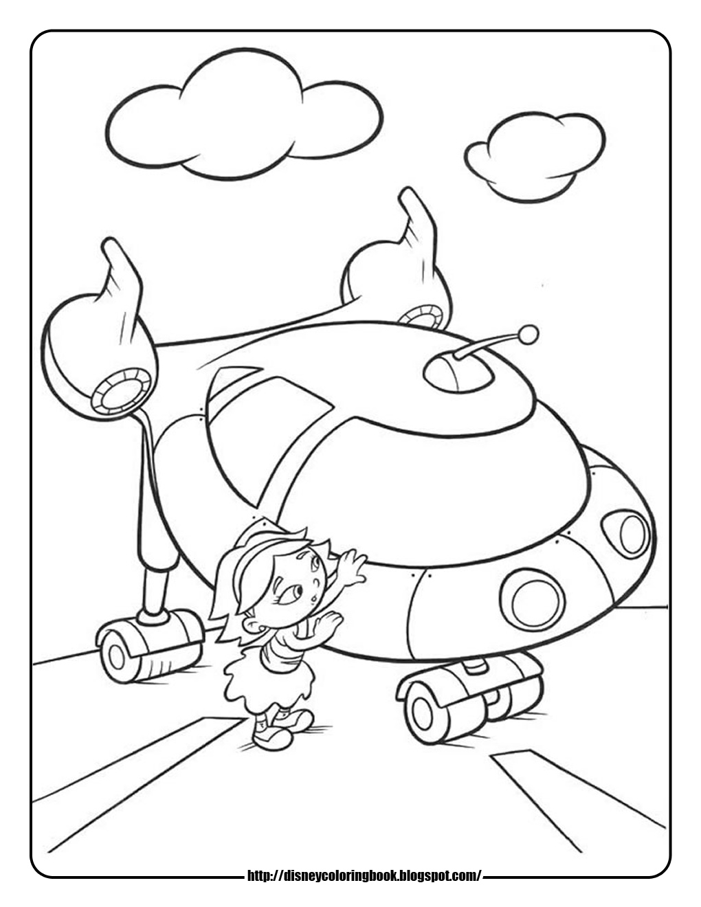 little einstein free coloring pages - photo#16