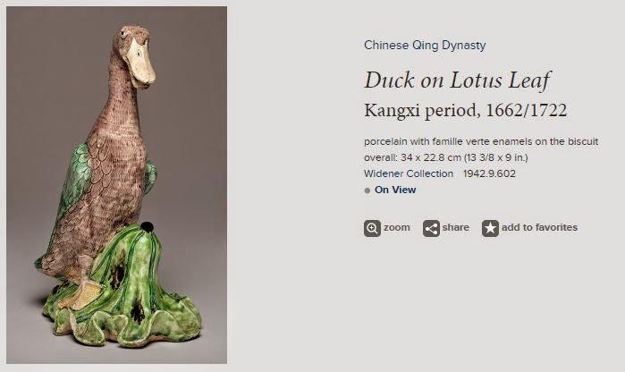 """<img src=""""Chinese Porcelain Duck .jpg"""" alt=""""With Famille verte enamels"""">"""