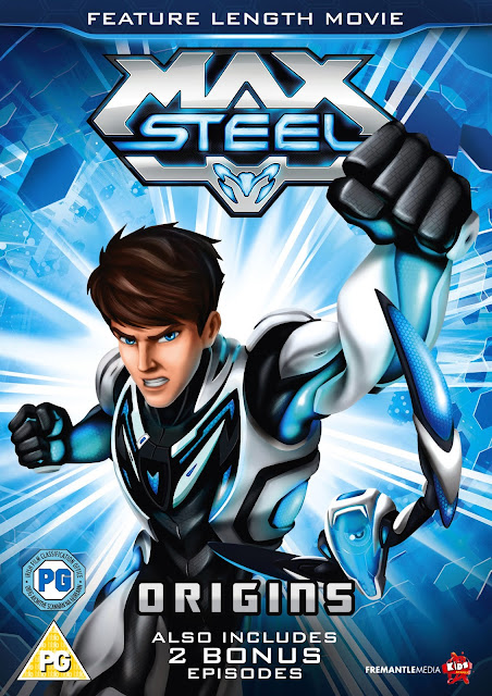 Max Steel, Max Steel - Origins DVD, superhero animation