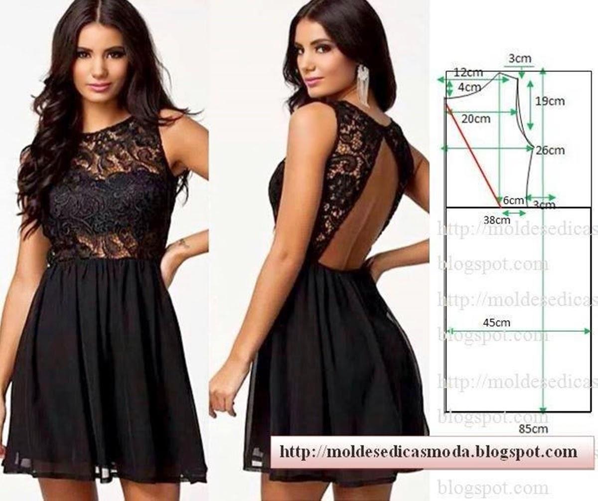 Сшить платье фото схема