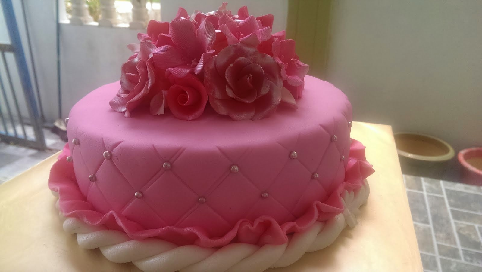 FONDANT CAKE/rm200-250/2kg