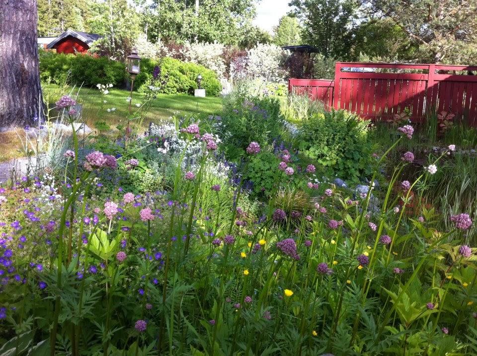 ...alla borde få vara med trädgård...