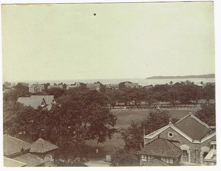 Cricket Ground in Bombay (Mumbai) c1905-10
