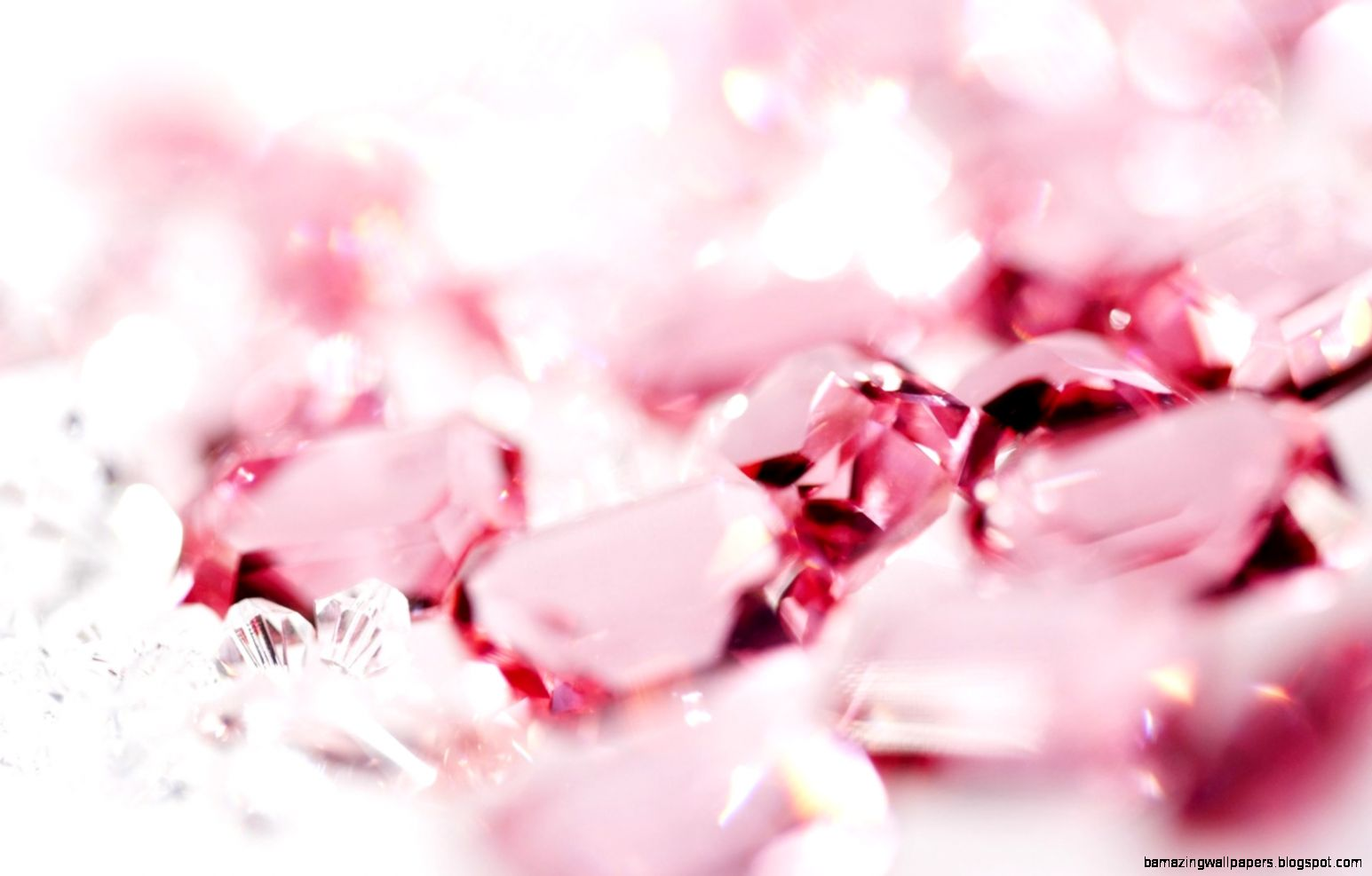 Pink Crystal Wallpaper   HD wallpapers