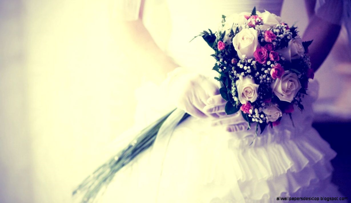 bride bouquet flowers gloves wedding hd wallpaper wallpapers