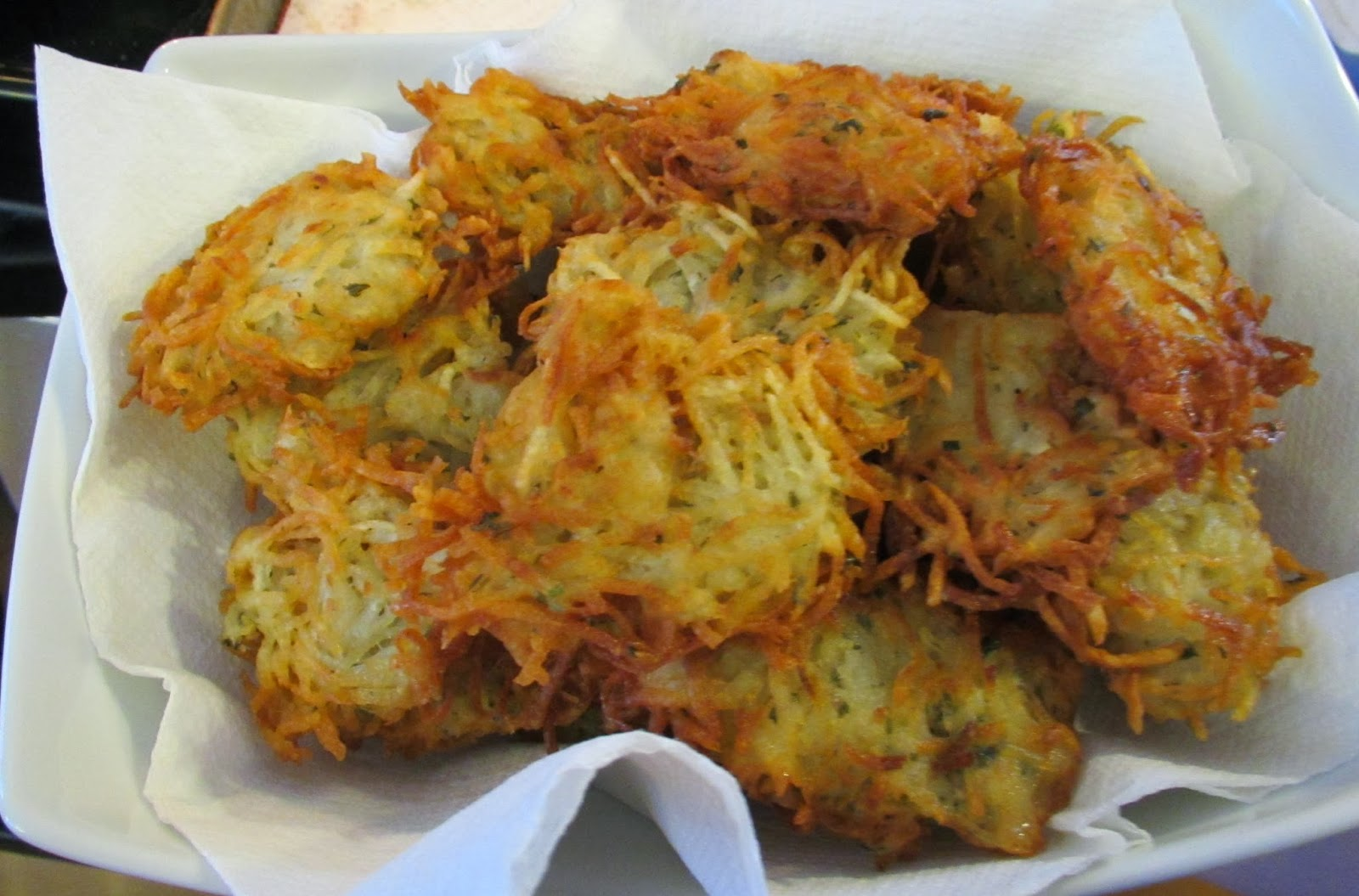 potato latkes with rosemary and brown butter applesauce latkes sweet ...