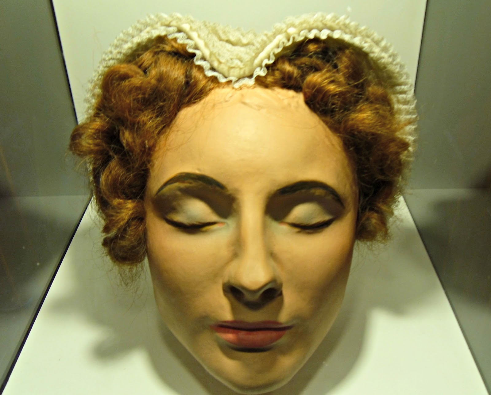 Mary Queen Of Scots Death Mask Tales from the ...