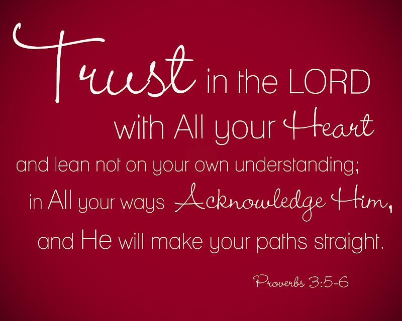 shine design 4 Him: Proverbs 3:5-6