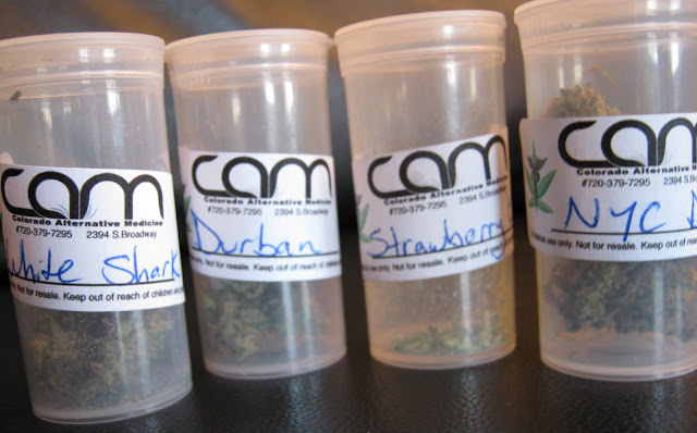 Marijuana Strains at CAM