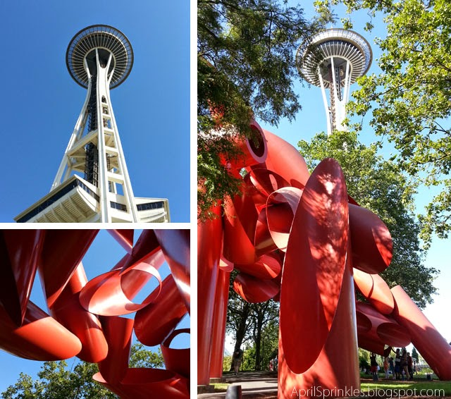 Seattle Space Needle by KB Photography on April Sprinkles