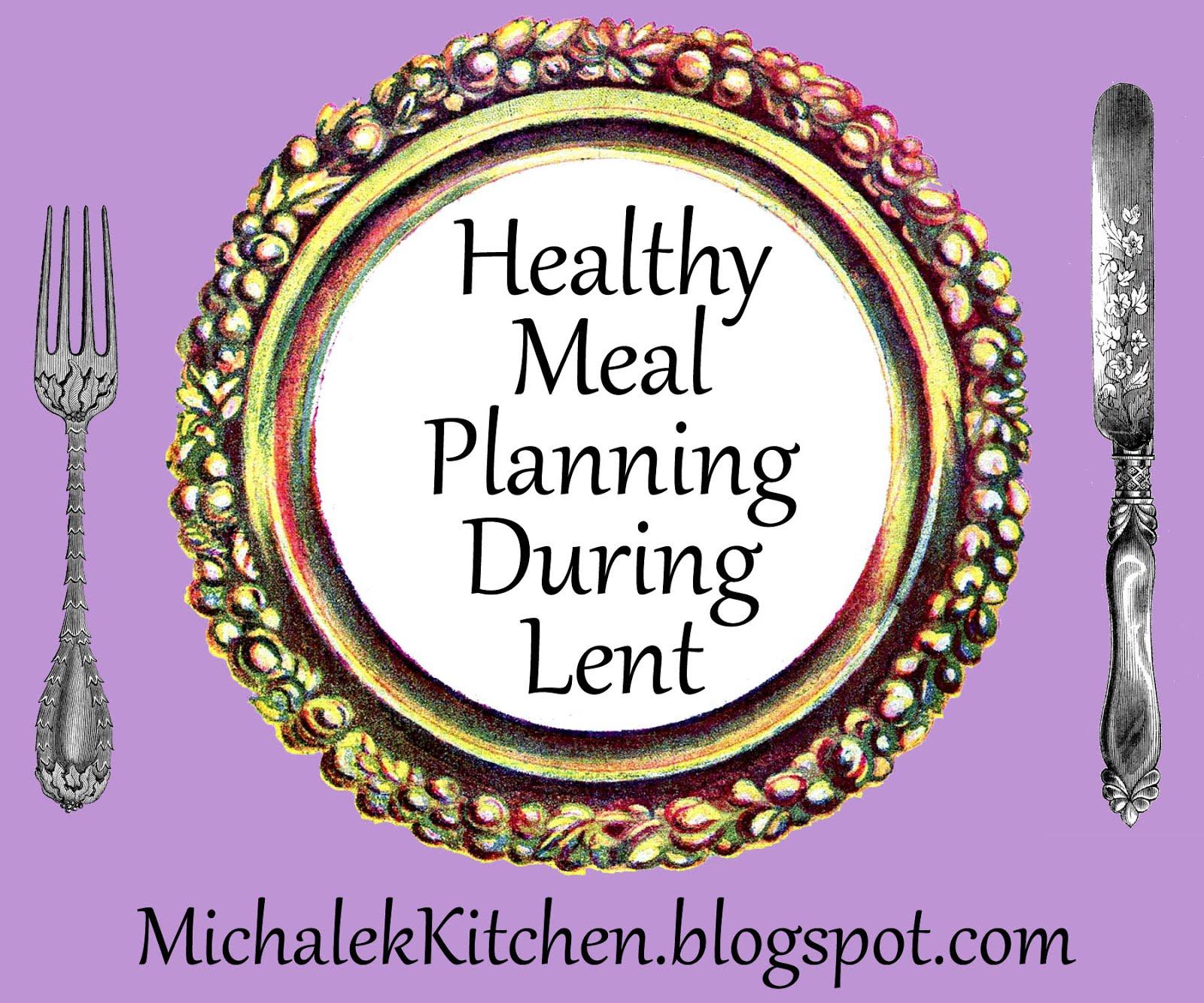 Lent Meal Plans