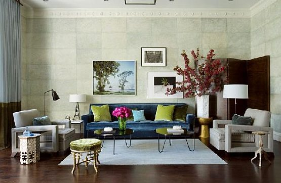 Living Room Design Eclectic Living Room Design