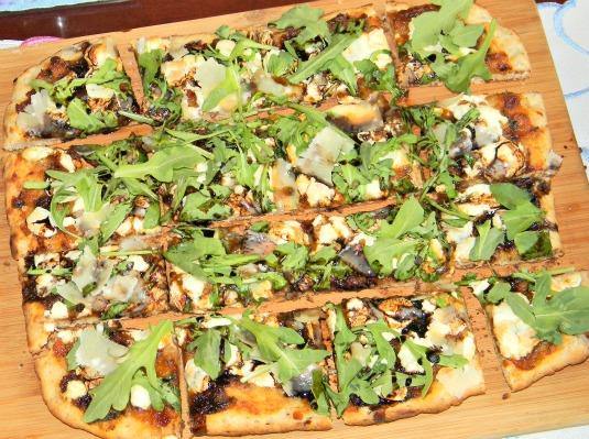BLT Jam Flat Bread Pizza - Honey Board Recipe Redux Sponsored Recipe ...